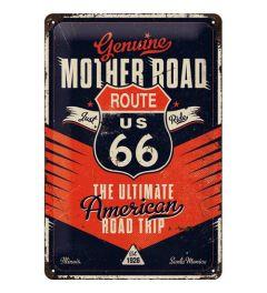 Route 66 The Ultimate Road Trip Wandplaat 20x30cm