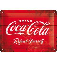 Coca-Cola - Refresh Yourself - Rood