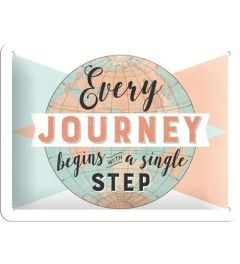 Every Journey begins 15x20
