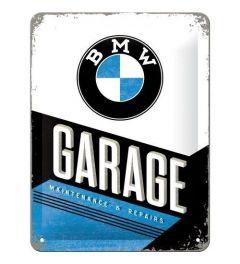 BMW Garage Metalen Wandplaat 15x20cm