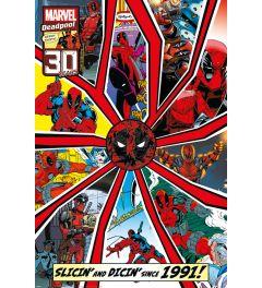 Deadpool 30 years Poster 61x91.5cm