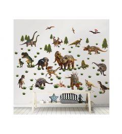 Dinosaurus Muursticker Set