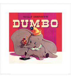 Dumbo Art Print 40x40cm