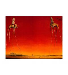 Dali Les Elephants 1948 Kunstdruk 60x80cm