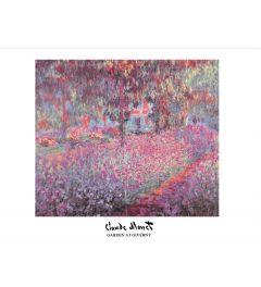 Monet Garden At Giverny Kunstdruk 60x80cm