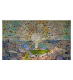 Munch The Sun Kunstdruk 60x80cm