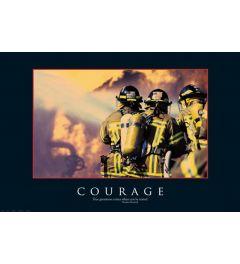 Brandweermannen Helden Poster 91.5x61cm