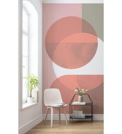 Form Bauhaus 2-delig Fotobehang 200x280cm