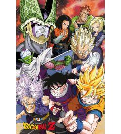 Dragon Ball Z Cell Saga Poster 61x91.5cm