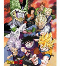 Dragon Ball Z Cell Saga Poster 40x50cm