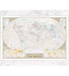 Wereldkaart - Engelstalig