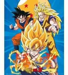 Dragon Ball Z - 3 Goku's
