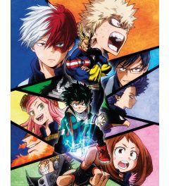 My Hero Academia Group Poster 40x50cm