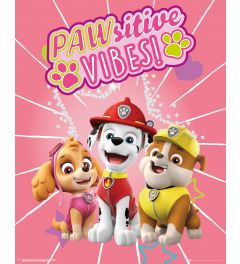 Paw Patrol Pawsitive Vibes Poster 40x50cm