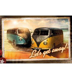 Volkswagen Camper - Lets Get Away