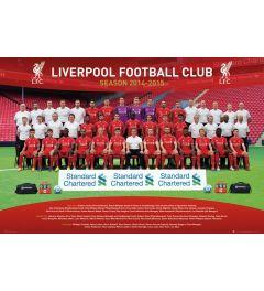 Liverpool Teamfoto 14/15 Poster 91.5x61cm