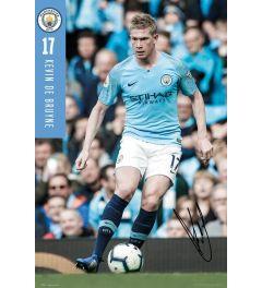 Manchester City De Bruyne 18-19 Poster 61x91.5cm