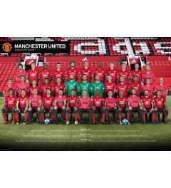 Manchester United Spelers 18-19 Poster 61x91.5cm