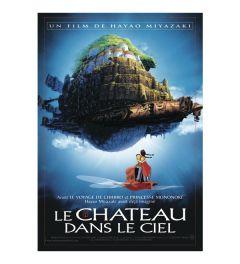 Ghibli Le Chateau Dans le Ciel Poster 68x98cm