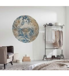 Goddess Zelfklevende Behangcirkel ⌀125
