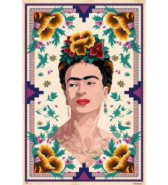 Frida Kahlo Illustration Poster 61x91.5cm