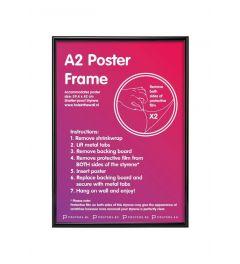 Kader A2 Zwart 42x59,4cm Kunststof