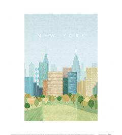 Henry Rivers New York II Art Print 30x40cm