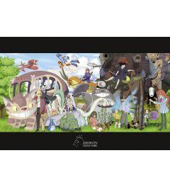 Studio Ghibli Collage Poster 61x91.5cm