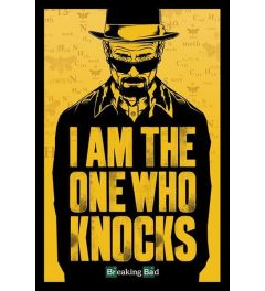 Breaking Bad I Am The One Who Knocks Poster 61x91.5cm