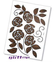Bloemen Glitter