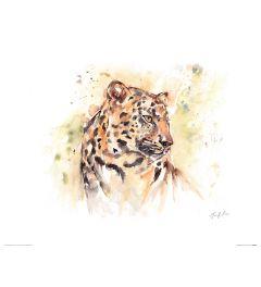 Luipaard Art Print Jennifer Rose 40x50cm