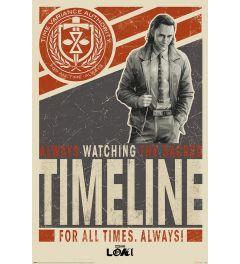 Loki Timeline Poster 61x91.5cm