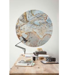Marble Sphere Zelfklevende Behangcirkel ⌀125