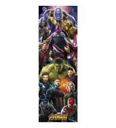 Marvel Avengers Infinity War Poster 53x158cm