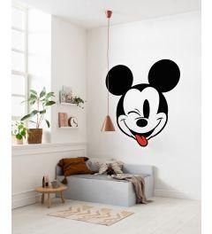 Mickey Head Optimism Zelfklevende Behangcirkel ⌀125