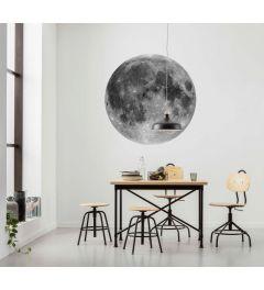 Moon Zelfklevende Behangcirkel ⌀125