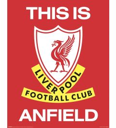 Liverpool FC This Is Anfield Poster 40x50cm