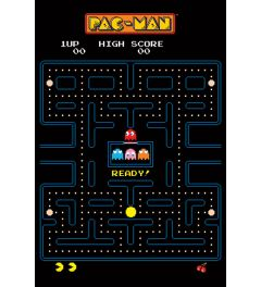 Pac-Man Maze Poster 61x91.5cm