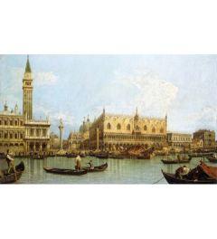 Venetië vanuit Haven San Marco - Canaletto