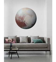 Pluto Zelfklevende Behangcirkel ⌀125