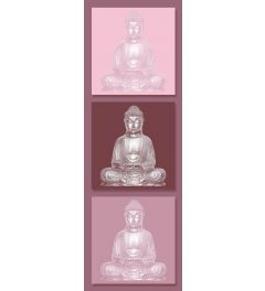 Buddha Roze Poster 53x158cm