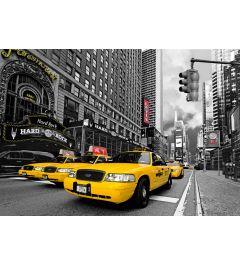 New York - Gele Taxi's- Hard Rock Cafe