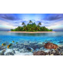 Maldiven 7-delig Fotobehang 350x260cm
