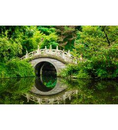 Japanse Tuin 7-delig Fotobehang 350x260cm