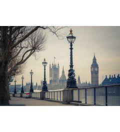 Londen Big Ben En Parlementsgebouw 7-delig Fotobehang 350x260cm