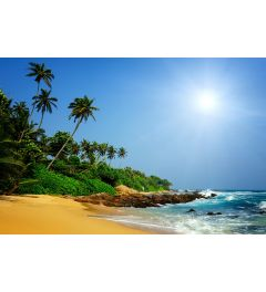 Sri Lanka Strand 7-delig Fotobehang 350x260cm