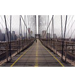 New York Brooklyn Bridge 7-delig Fotobehang 350x260cm