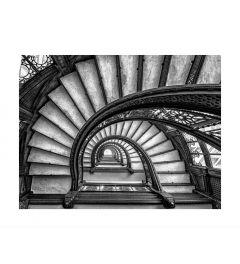 Romantic Staircase Kunstdruk
