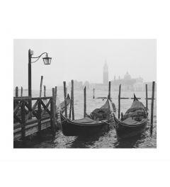 Gondolas In Venice Kunstdruk