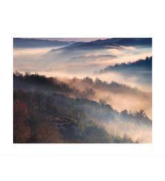 Misty Mountains Kunstdruk